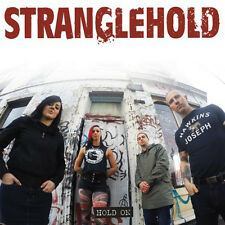 "STRANGLEHOLD Hold On 7"" - new BLACK Vinyl - Aussie Oi! Punk"