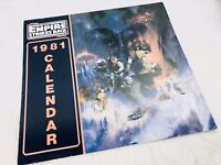 Vintage Unused 1981 Star Wars Collector's Calendar ORIGINAL EMPIRE STRIKES BACK