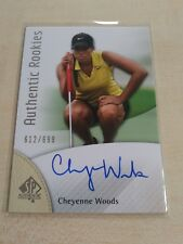 Cheyenne Woods 2014 SP Authentic Rookies Auto 612/699 INV2