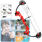 15-29lbs Archery Compound Bow w/6Arrows Children Practice Training Hunting Youth