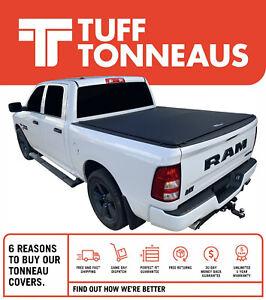 Tuff 'No Drill' Clip On 2.0 Tonneau Cover For Ram 1500 Express/Laramie Crew Cab