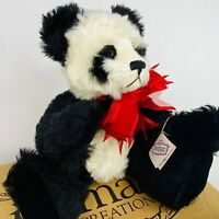 "Jaymar Creations Panda Bear Ellen Kislingbury Hsing Hsing 14"" Vintage New Box LE"