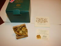1 HARMONY KINGDOM - Treasure Jests - Hemingway - FROG - Made In UK - New In Box