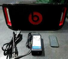 Beats By Dre Beatbox Portable Wireless Bluetooth Speake Black W/ Remote / Power