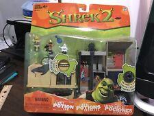 2004 Shrek 2 Secret Potion Lab Playset Mini Figures NIB