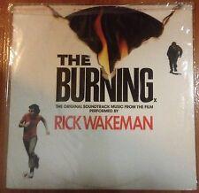 THE BURNING - Soundtrack LP Rick Wakeman 80's Slasher Horror FRIDAY THE 13th