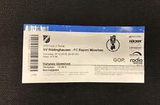 Sammler Used Ticket SV Rödinghausen FC Bayern München 30.10.18 DFB Pokal FCB