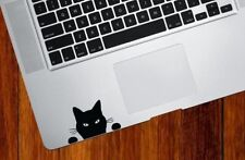 Black cat For Apple Macbook laptop vinyl decal