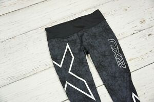 2XU Tights Compression Fitness Gym Leggings Running Bottom Women's Size L