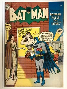Batman #87 FN- (5.5) COMPLETE AND UNRESTORED ~Off-White - White Pages~