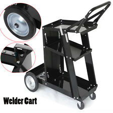 WELDING CART TROLLEY MIG TIG ARC MMA WELDER PLASMA CUTTER BENCH STORAGE IRONCART