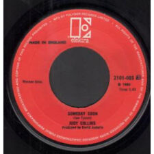 "059  7"" Single 45 RPM JUDY COLLINS Someday Soon/ My father  ELEKTRA EKSN 45053"