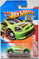 HOT WHEELS 2011 THRILL RACERS MITSUBISHI ECLIPSE CONCEPT CAR FACTORY SEALED