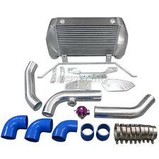 Front Mount Intercooler Kit w/BOV For Mazda RX7 RX-7 FD Single or Stock Turbo