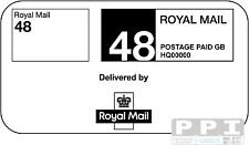 1000 ROYAL MAIL 48 STANDARD PPI Only Labels on Sheets Postage STD-48-05 (21s)