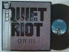 PROMO LABEL / QUIET RIOT QR III / JAPAN WITH OBI
