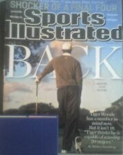 Tiger Woods Sports Illustrated Magazine April 8, 2013 golf  final four
