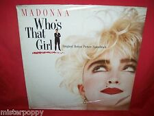 MADONNA Who's that girl OST LP 1987 ITALY MINT SEALED