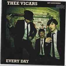Dirty Water Records New Garage Punk Thee Vicars Every Day Don't Wanna Be Free