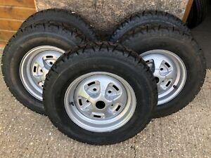 TUDOR WHEELS LTD Classic Vintage Wheel Restoration Range Rover 2 Door Rostyle