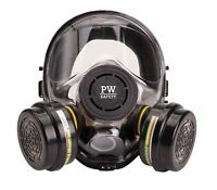Portwest Vienna Full Face Mask Respiratory Bayonet Respirator Safety Work P500