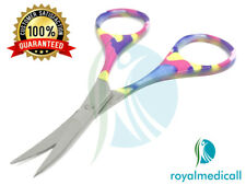 CUTICLE NAIL SCISSORS MULTI COLOR EMBROIDERY SCISSORS
