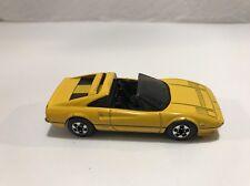 Hot Wheels Ferrari 308 GTS Yellow Rare Thailand Die Cast Car Exotic