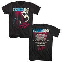 Scorpions Savage Amusement Album Cover Men's T Shirt Live Rock Band Tour Merch