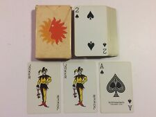 Vintage 1970s National Airlines Bridge Size Playing Cards