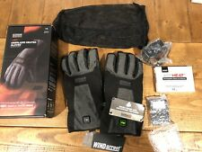 NEW Outdoor Research Heated Li Ion Snow Ski Gloves Leather Alti Heat Large