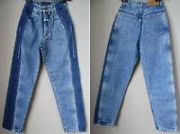 Jeans 38 donna vita alta ORIGINALI VINTAGE '80 CLOSED Marithe' Francois Girbaud