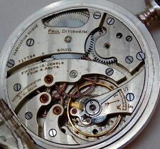Mega rare Paul Ditisheim Solvil A1 Grade Marine Chronometer Navy silver watch