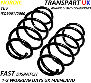 *VAUXHALL ASTRA H HATCHBACK REAR COIL SPRINGS PAIR 04-11 PETROL AND DIESEL