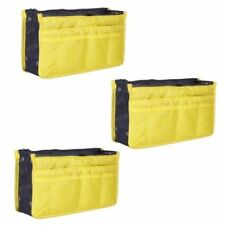 Dual Bag in a Bag Organizer (Yellow) Set of 3