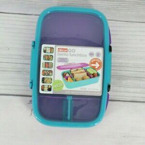Decor Go Lunch Box 2L Multi Compartment Bento Food Storage Container
