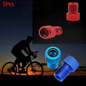 4pcs Presta to Shrader Bicycle Road Bike Valve Adapters Converters SS6