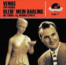 """7"""" FIPS FISCHER Venus FRANKIE AVALON DIE TEDDIES Bleib mein Darling POLYDOR 1959"""