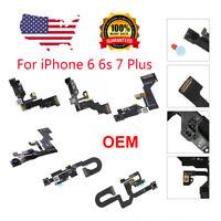 OEM Front Face Camera Proximity Light Sensor Flex Cable For iPhone 6 6S Plus 7 X