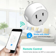 Smart Plug WiFi Socket Outlet Remote Control Works with Alexa Google Home
