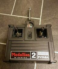 futaba vintage medallion m series vintage 2 ch transmitter 27 radio control vgc