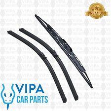 VW Sharan MK 1 Phase 2 MPV MAY 2000 to MAR 2011 Windscreen Wiper Blades Set