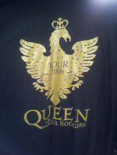 Vintage QUEEN with PAUL RODGERS 2006 TOUR  t shirt XL