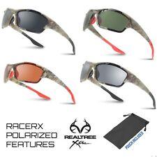 d4c37c16cd9 Mens Polarized RealTree Xtra Camo Hunting Sports Wrap w  nose piece  Sunglasses
