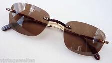 Alpina Sonnenbrille unisex randlos braune Tönung hochwertige Marke NEU size M