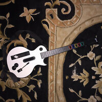 Nintendo Wii Wireless Gibson Les Paul Guitar Hero Controller Tested And Working