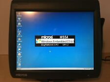 Micros Workstation 5A System Unit Touchscreen Point of Sale Pos System w/ Stand