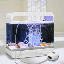 Zoic 220-240V 2.5W 2L/min Silent Fish Tank Oxygen Air Pump F 100-200L Aquarium