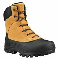 TIMBERLAND A1ZAS SNOW BLADES MEN'S WHEAT/BLACK WATERPROOF INSULATED DUCK BOOTS