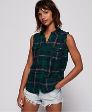 Superdry Womens Sleeveless Boyfriend Shirt