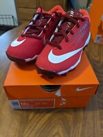 Nike Vapor Ultrafly 2 Keystone BG Children's Baseball Cleats Size 12 Red NIB